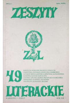 Zeszyty literackie 49
