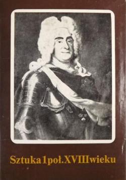 Sztuka 1 poł  XVIII wieku