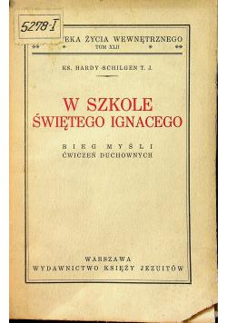 W szkole Świętego Ignacego 1939 r