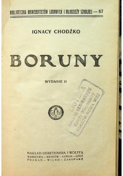 Boruny 1925 r