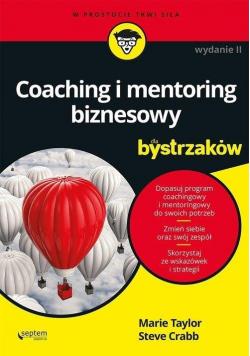 Coaching i mentoring biznesowy dla bystrzaków