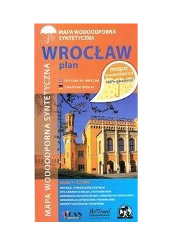 Mapa wodoodporna - Wroclaw 1:22 000