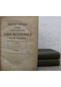 Liber Beneficiorum 3 Tomi ok 1863r