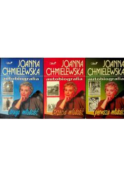 Chmielewska Joanna Autobiografia 3 tomy