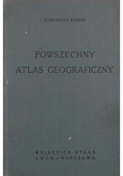 Powszechny Atlas Geograficzny 1934 r.