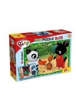 Bing - Puzzle Supermaxi 2x12 W szkole