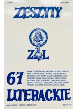 Zeszyty literackie 67 3/1999