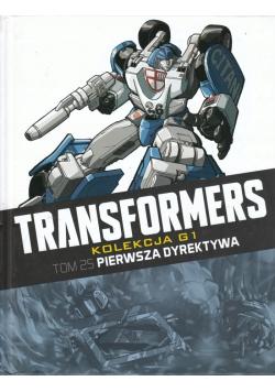 Transformers Tom 25 Pierwsza dyrektywa