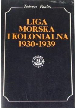 Liga Morska i Kolonialna 1930-1939