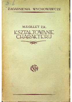 Kształtowanie charakteru 1936 r.