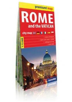 Premium!map Rzym i Watykan,1:12 000 plan miasta