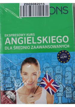 Ekspresowy kurs angielskiego dla średnio zaawansowanych A2 B1 plus CD