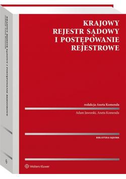Krajowy Rejestr Sądowy i postępowanie rejestrowe