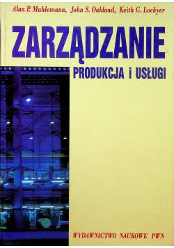 Zarządzanie produkcja i usługi