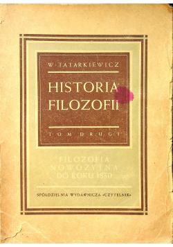 Historia filozofii tom drugi 1949 r
