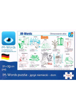 iM-Words Puzzle 120 Niemiecki - Dom