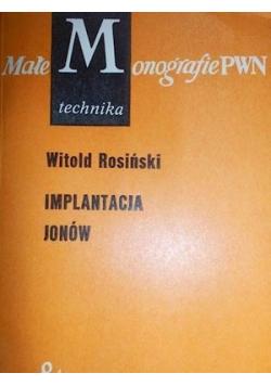 Implantacja jonów