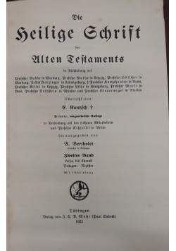 Die Heilige Schrift 1923r