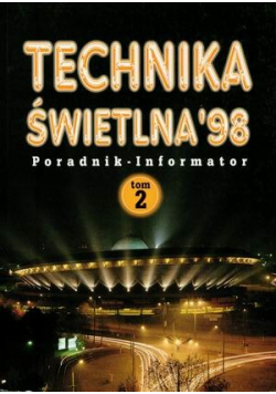 Technika świetlna 98 tom 2