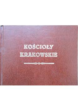 Kościoły krakowskie Reprint z 1855 r.