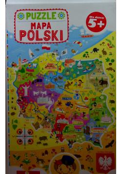 Puzzle  Mapa Polski