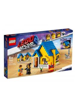 Lego MOVIE 70831 Dom Emmeta/Rakieta ratunkowa
