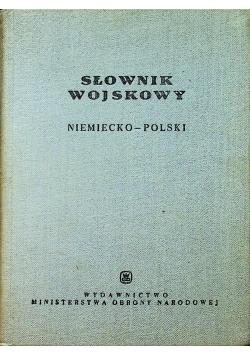 Słownik wojskowy niemiecko-polski