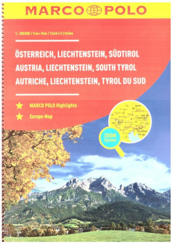 Atlas Austria 1:200 000 spirala w.2019 MARCO POLO