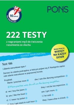 10 minut na angielski. 222 testy PONS