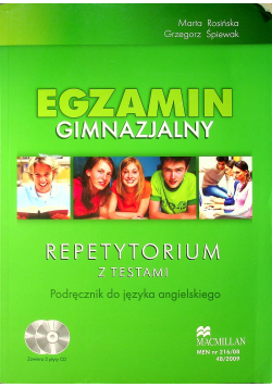 Egzamin gimnazjalny Repetytorium z testami Podręcznik do języka angielskiego