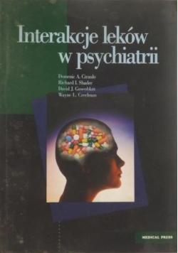 Interakcje leków w psychiatrii