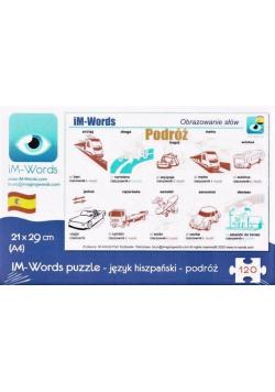iM-Words Puzzle 120 Hiszpański - Podróż