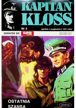 Kapitan Kloss nr 3 Dodatek