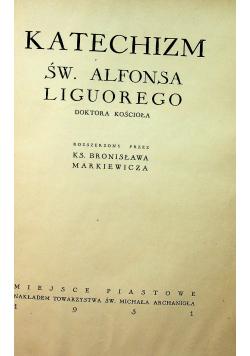 Katechizm Świętego Alfonsa Liguorego 1931r