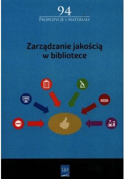 Zarządzanie jakością w bibliotece
