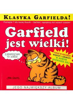 Garfield jest wielki