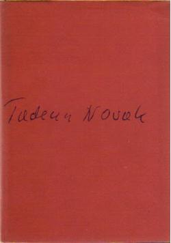 Wiersze wybrane Tadeusz Nowak