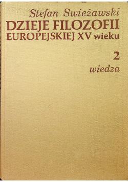 Dzieje Filozofii Europejskiej XV wieku 2 wiedza