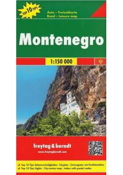 Mapa samochodowa - Montenegro 1:150 000
