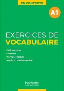 En Contexte: Exercices de vocabulaire A1 podr.