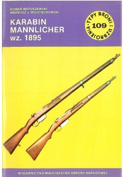 Typ broni i uzbrojenia Nr 109 Karabin Mannlicher wz 1895