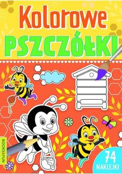 Kolorowe pszczółki