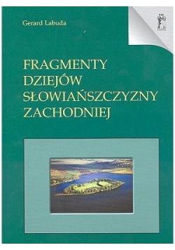 Fragmenty Dziejów Słowiańszczyzny Zachodniej