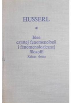Idee czystej fenomenologii i fenomenologicznej filozofii Księga druga