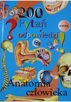 Anatomia człowieka 200 pytań i odpowiedzi