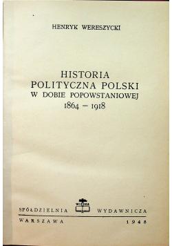 Historia polityczna Polski w dobie popowstaniowej 1948 r.