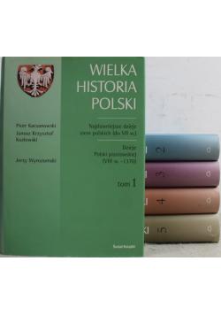 Wielka Historia Polski 5 tomów