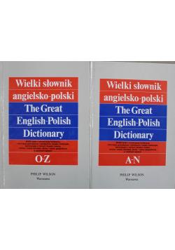 Wielki słownik angielsko polski II Tomy