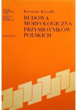 Budowa morfologiczna przymiotników polskich