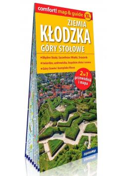 Comfort! map&guide XL Ziemia kłodzka, Góry Stołowe